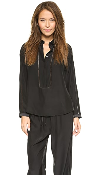 Ari Dein Grand Hotel Pajama Top