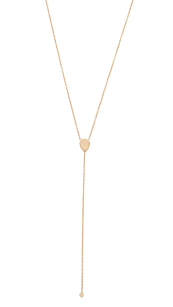 Ariel Gordon Jewelry Teardop Lariat Necklace
