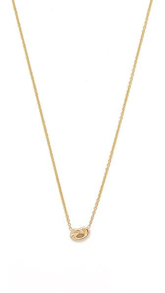 Ariel Gordon Jewelry Love Knot Necklace