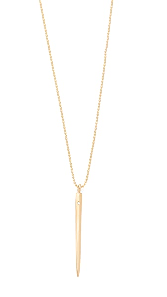Ariel Gordon Jewelry Spike Charm Necklace