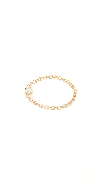 Ariel Gordon Jewelry Diamond Chain Ring