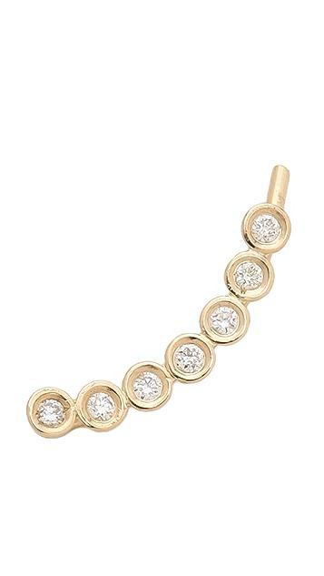 Ariel Gordon Jewelry Diamond Bezel Ear Crawler
