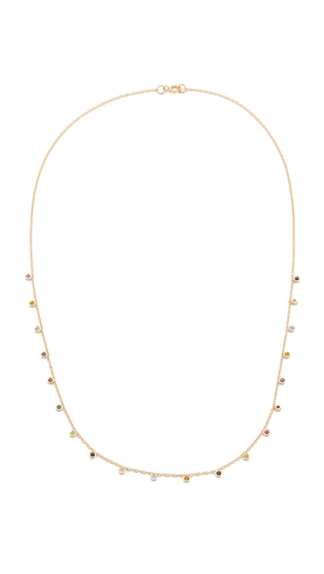 Ariel Gordon Jewelry 14k Gold Candy Crush Necklace - Gold Multi