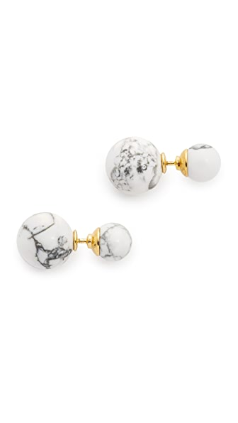 Amber Sceats Front To Back Marble Earrings Shopbop