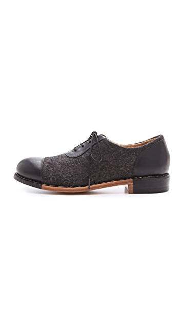 The Office of Angela Scott Mr. Smith Wool Oxfords