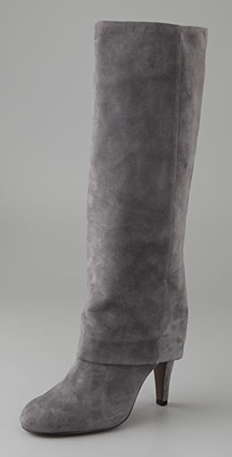 Ash Suede Ono Long Cuff Boots