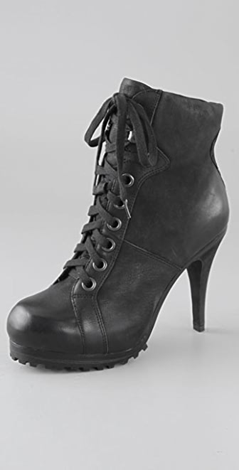 Ash Patty High Heel Sneaker Booties