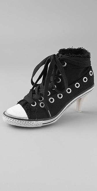 Ash Fresh Kitten Heel Sneakers