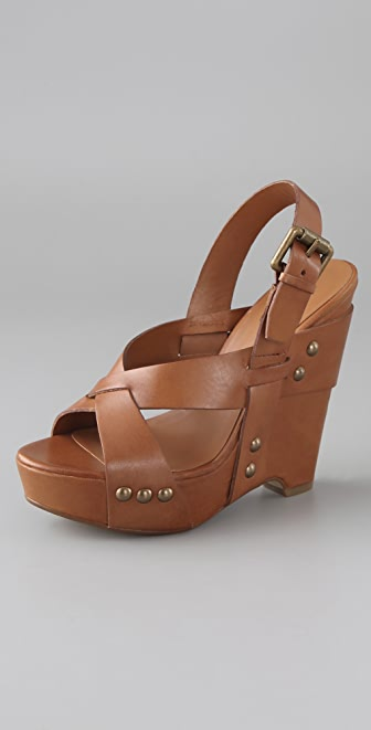 Ash Lucy X Band Wedge Sandals