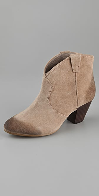 Ash Jalouse Suede Booties