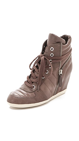 Ash Brooklyn Puffy Wedge Sneakers