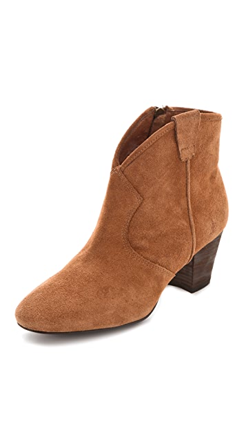 Ash Siliver Pull On Booties