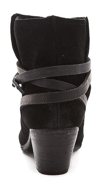 Ash Nikita Wrap Booties