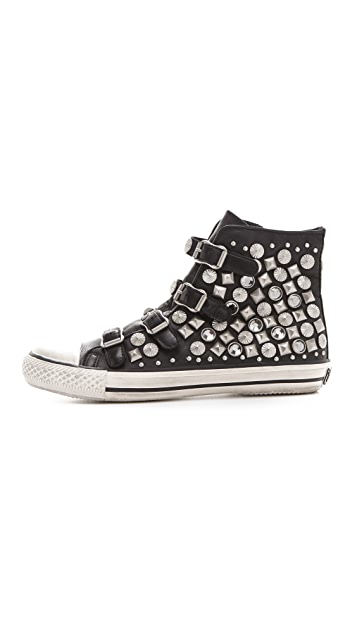 Ash Victim Buckle Sneakers with Studs