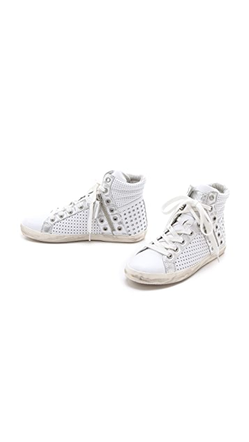 Ash Subway High Top Sneakers