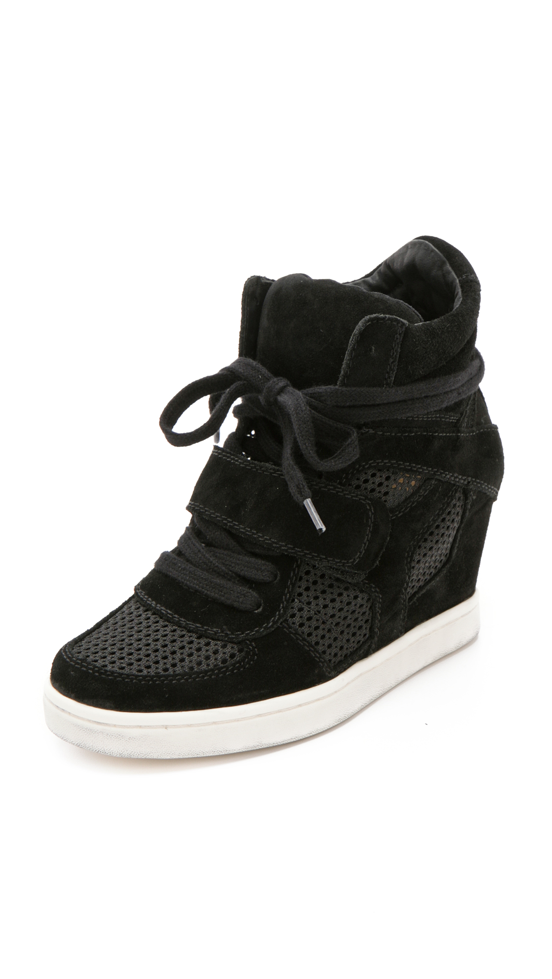 3374ecd6dca Ash Cool Wedge Sneakers with Mesh Insets