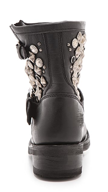 Ash Titanic Studded Boots