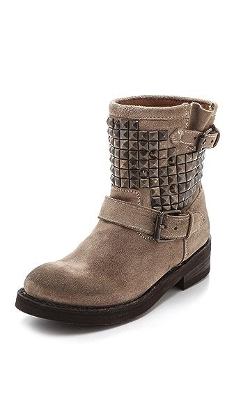 Ash Titan Studded Flat Boots