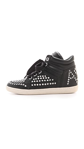 Ash Zest Studded Sneakers