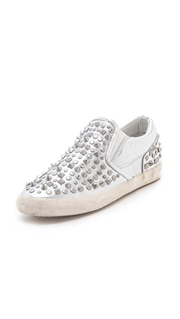 Ash Soul Metallic Studded Sneakers