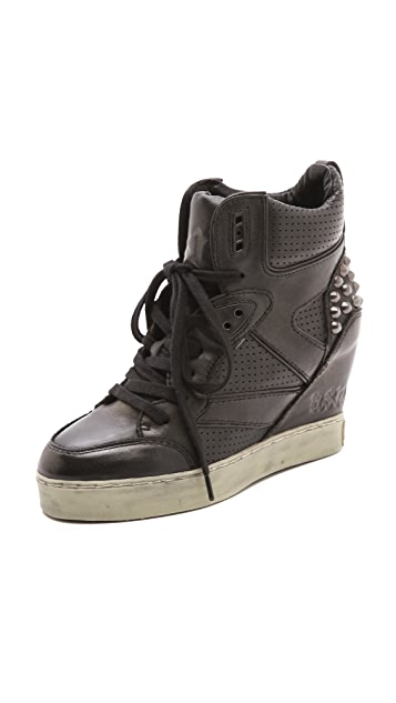Ash Billie Metallic Wedge Sneakers