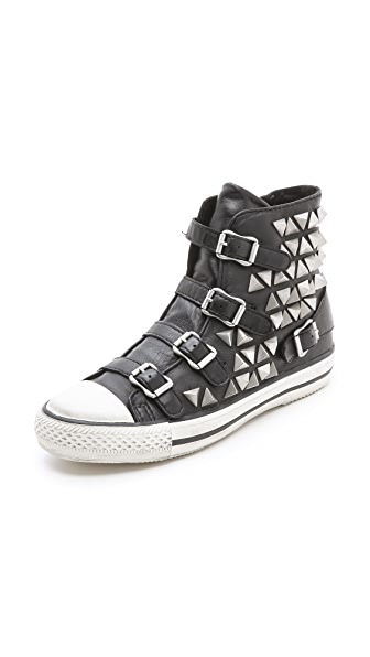 Ash Vice Studded Buckle Sneakers