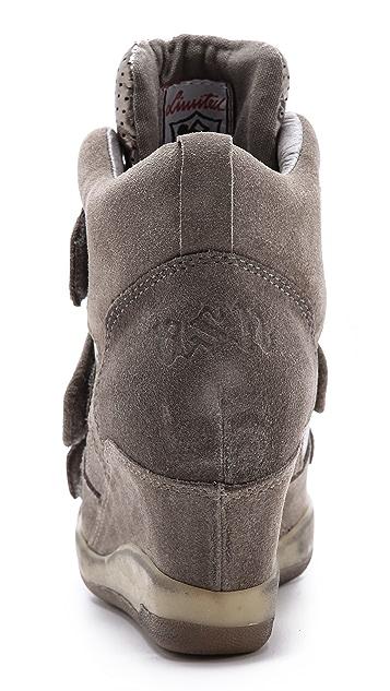Ash Alex Bis Wedge Sneakers