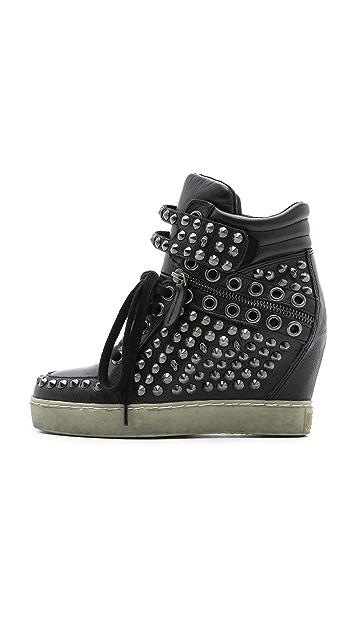 Ash Blondie Studded Sneakers