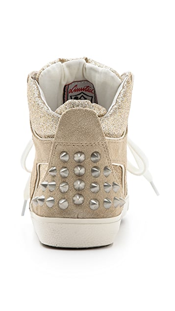 Ash Sonic Glitter Hightop Sneakers