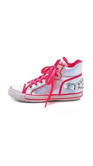 Ash Vertigo Neon Trim Sneakers