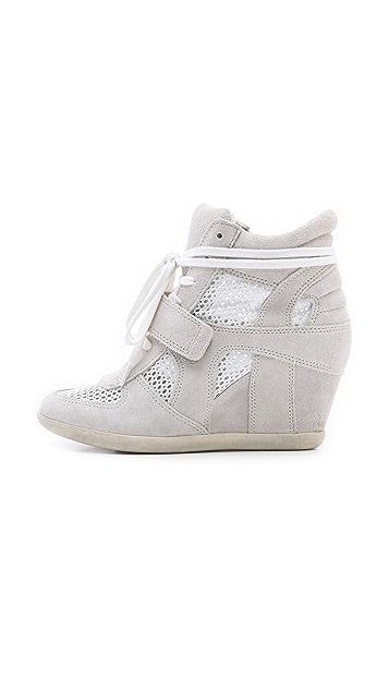 Ash Bowie Mesh Wedge Sneakers