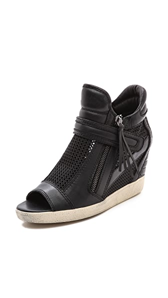 Ash Galaxy Open Toe Wedge Sneakers