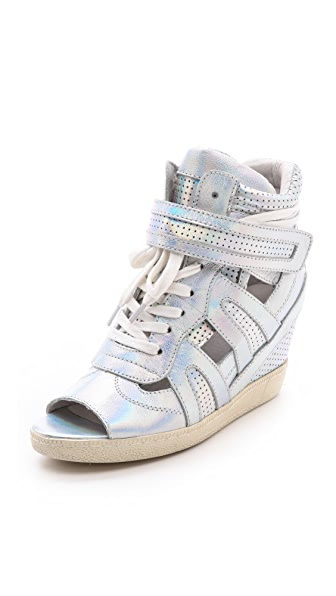 Ash Groove Open Toe Wedge Sneakers