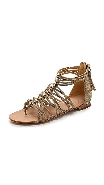 Ash Mani Studded Flat Sandals