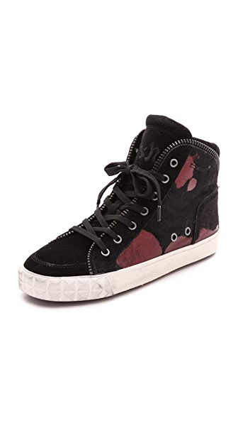 Ash Shake Bis Haircalf High Top Sneakers
