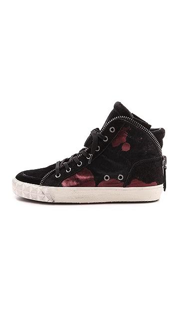 Ash Shake Bis Haircalf High Top Sneakers