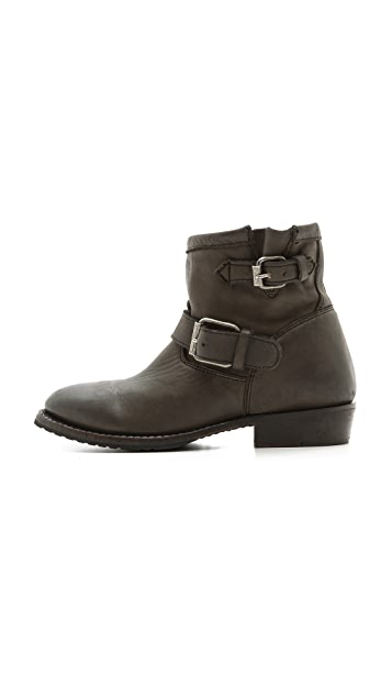 Ash Vegas Bis Buckle Booties