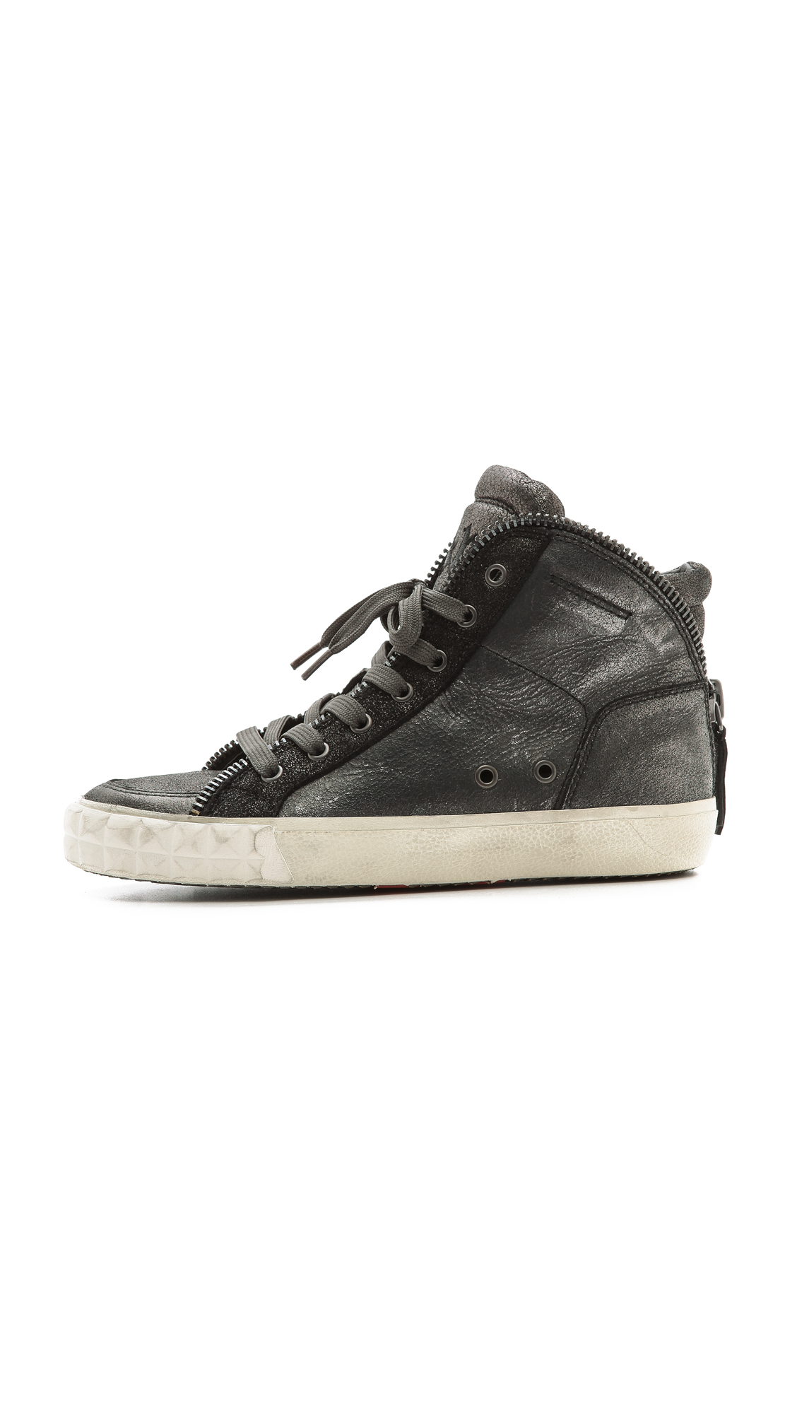 3e47ae6f6ef37 Ash Shake High Top Zipper Sneakers