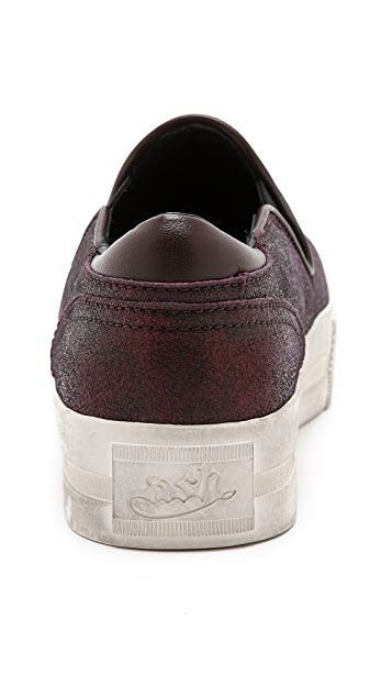 Ash Jungle Metallic Slip On Sneakers