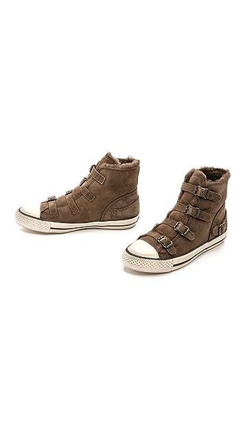 Ash Virgin Shearling Sneakers
