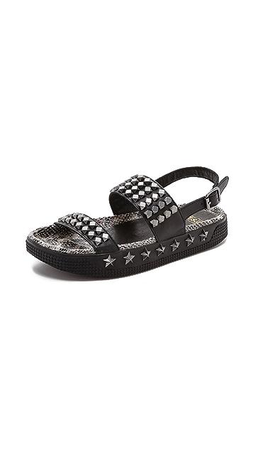 Ash Karma Studded Sandals
