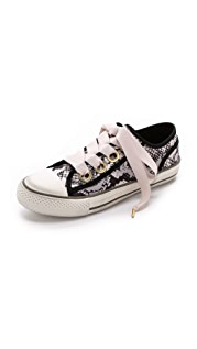 Ash Vicky Satin Sneakers