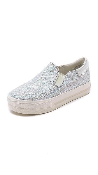 Ash Jam Bis Glitter Slip On Sneakers