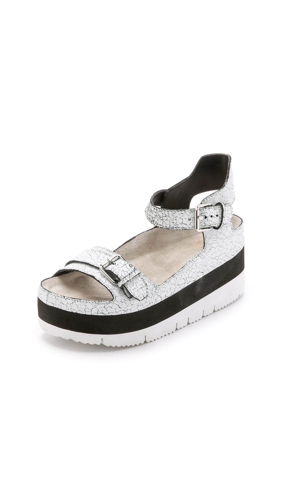 02c83a275667 Ash Vera Platform Sandals