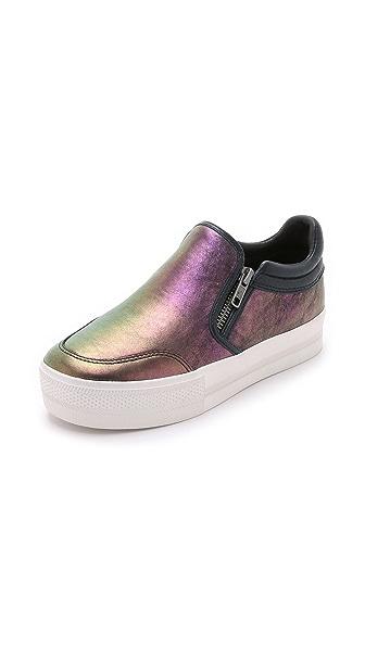 Ash Jordy Slip On Sneakers - Midnight/Purple