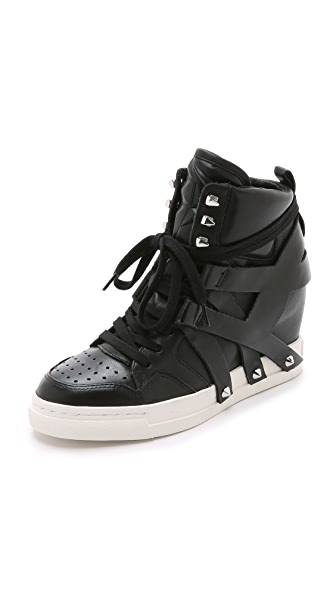 Ash Call Wedge Sneakers