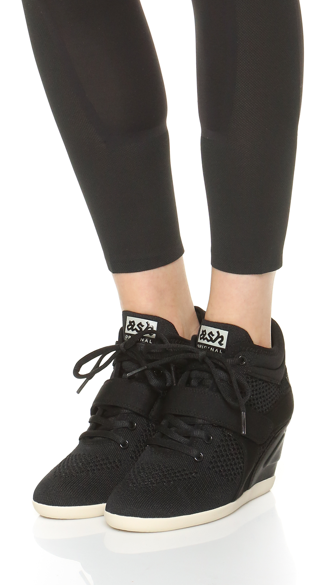 Ash Bebop Wedge Sneakers