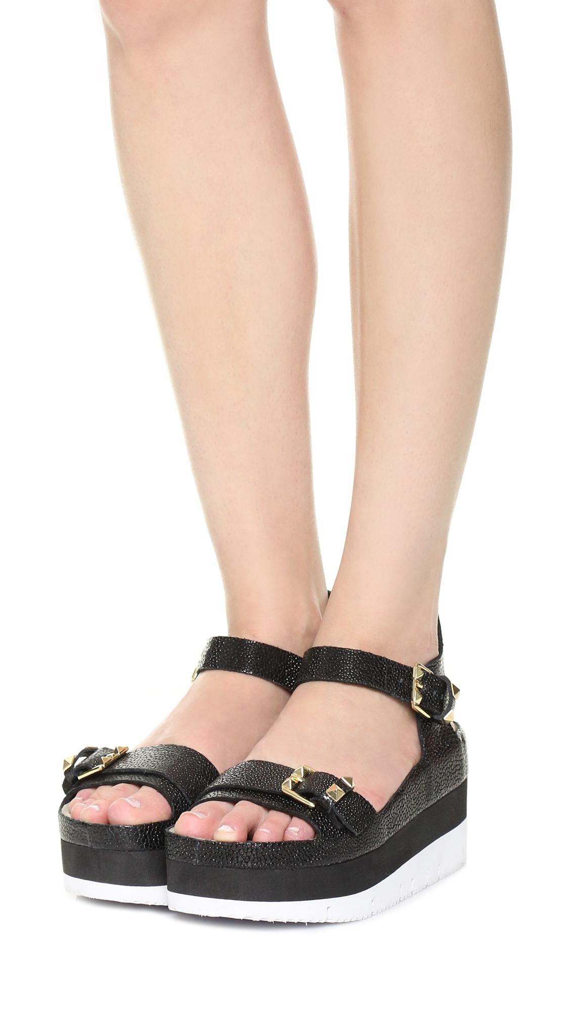 4e2f735395f7e4 Ash Vera Platform Sandals