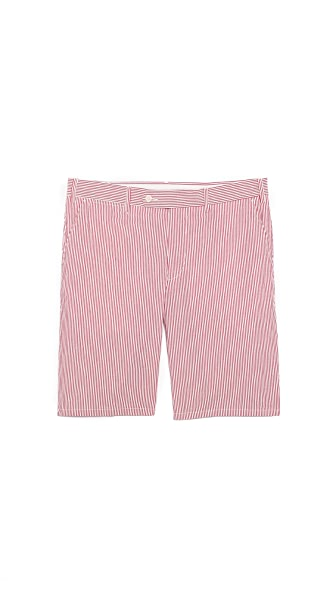 Aspesi Cotton Stripe Shorts