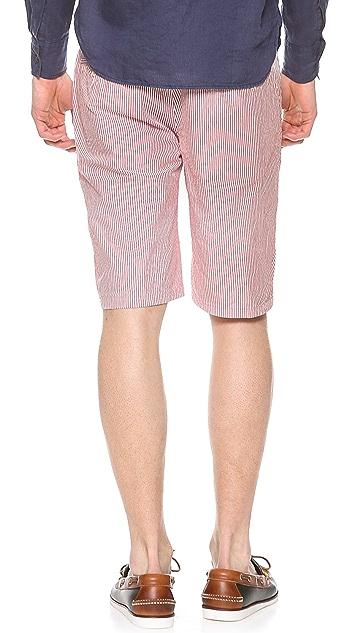 Aspesi Cotton Stripe Shorts